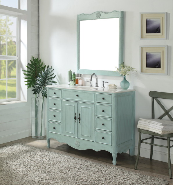 Shabby Chic Bathroom Vanities Shabby Chic Style Bathroom Miami By Chans Furniture Showroom Houzz Ie