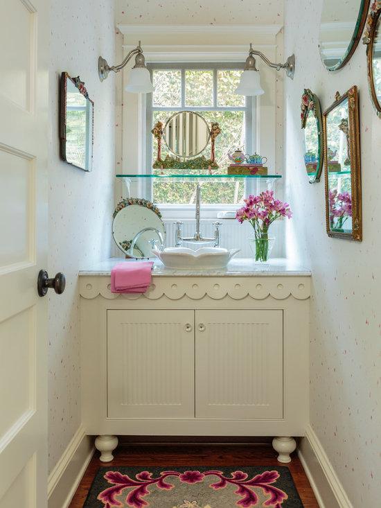 Shabby Chic Style 3 4 Bath Home Design Photos Decor Ideas