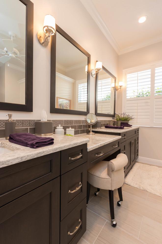 Shadow Wood Bathroom Remodel - Transitional - Bathroom ...