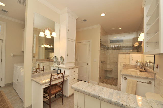 Shamley Addition Transitional Bathroom Birmingham By Case Design Remodeling Birmingham