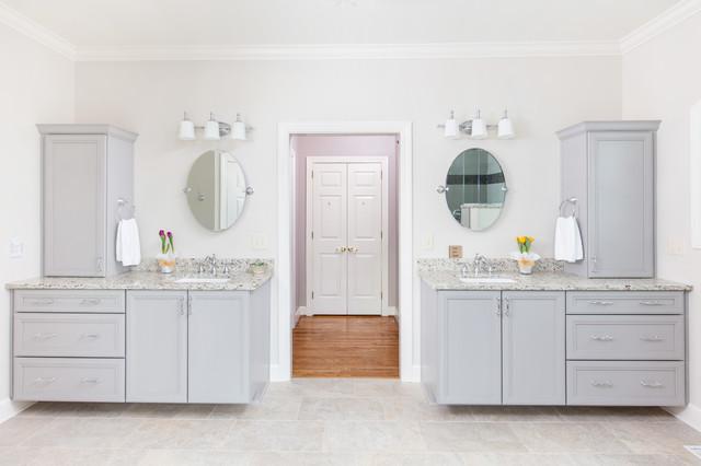 Shandwick master bath contemporary bathroom for Bathroom builders birmingham