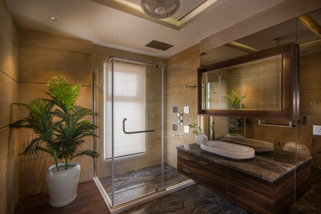 8 Stylish Ways To Separate Your Wet Shower Area