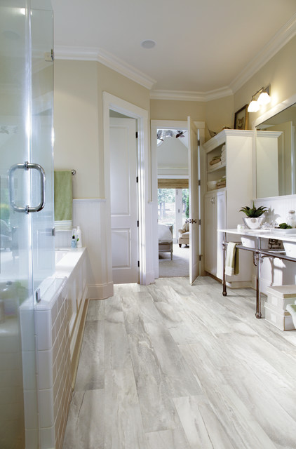 Shaw Floors contemporary-bathroom