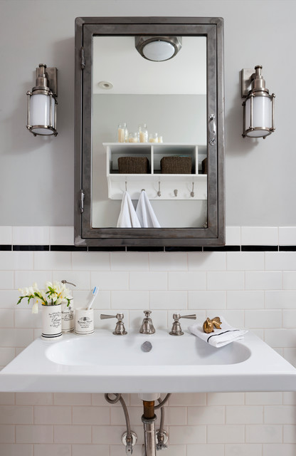 Shaw Rowhouse - DC - Eclectic - Bathroom - dc metro - by Breeze Giannasio Interiors