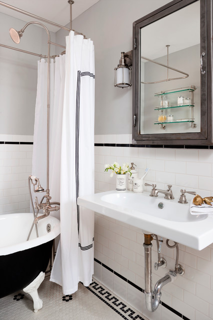 Shaw Rowhouse Dc Eclectic Bathroom Dc Metro By