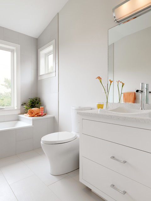 Shelburne Remodel contemporary-bathroom