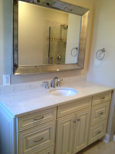 Shenandoah McKinlay Butterscotch - Traditional - Bathroom - newark - by Lowe's of Mt. Olive, New ...
