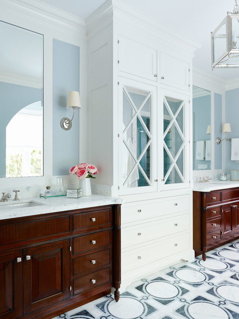 Shingle Style Victorian Bathroom Jacksonville By Andrew