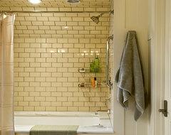 Shingle style home in Hanover NH traditional-bathroom