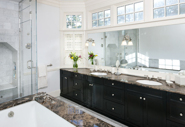 Shingle Style Master Bath traditional bathroom