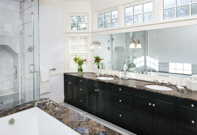 Shingle Style Master Bath traditional-bathroom