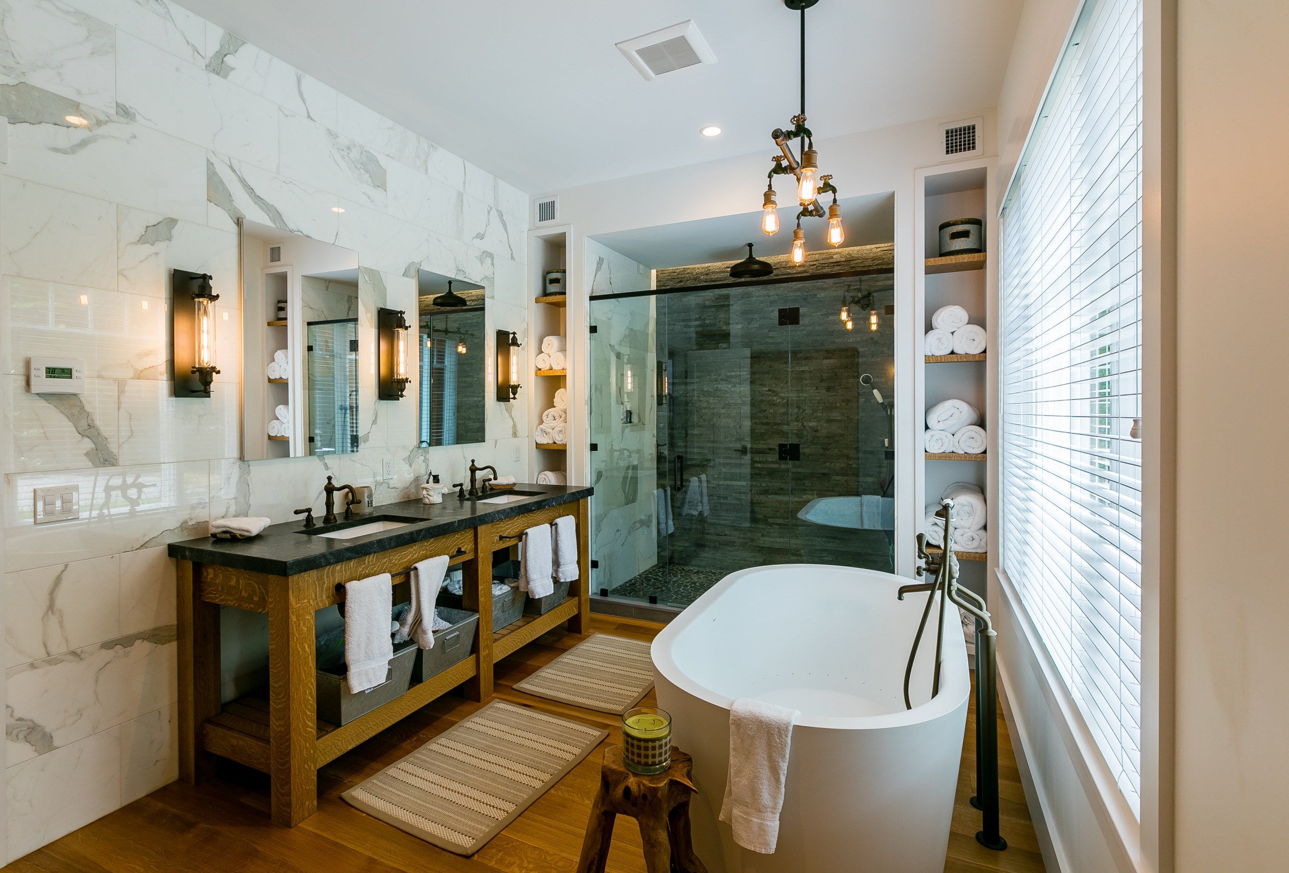 75 Beautiful Rustic Bathroom Design Ideas & Pictures | Houzz on navy bathroom design, chocolate bathroom design, sage bathroom design, violet bathroom design, pewter bathroom design, wood bathroom design, onyx bathroom design, forest bathroom design, steel bathroom design, quartz bathroom design, mauve bathroom design, ivory bathroom design, bronze bathroom design, brick bathroom design, desert bathroom design, gold bathroom design, cherry bathroom design, pine bathroom design, espresso bathroom design, peach bathroom design,
