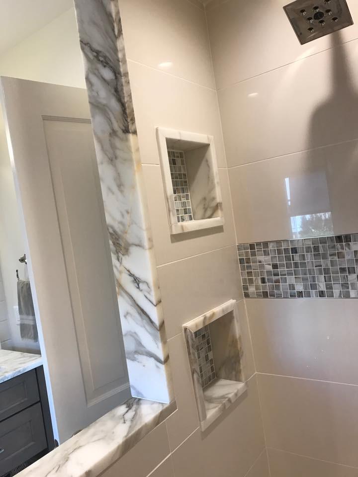 Shore House Master Bathroom