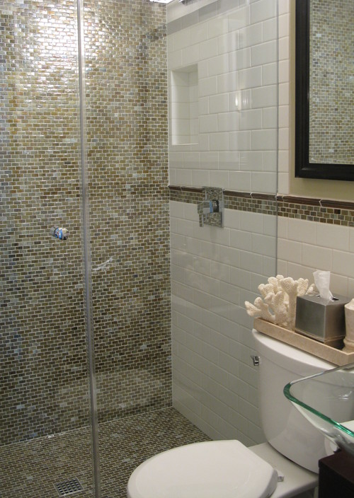 Glass Tile Bathroom Pictures   Modern House Decorating Inspiration ...