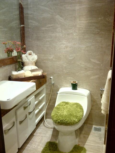 Show Unit Apt Kemang Studio28m2 Contemporary bathroom
