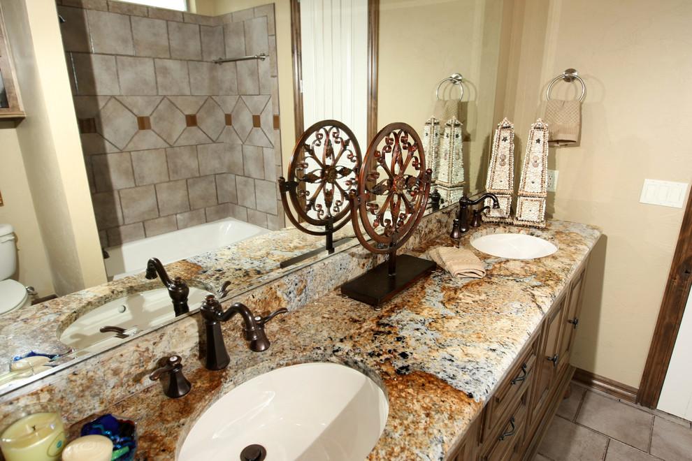 Showcase of Homes - Traditional - Bathroom - Oklahoma City ...