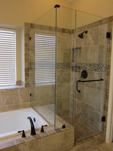 Shower And Tub Master Bathroom Remodel