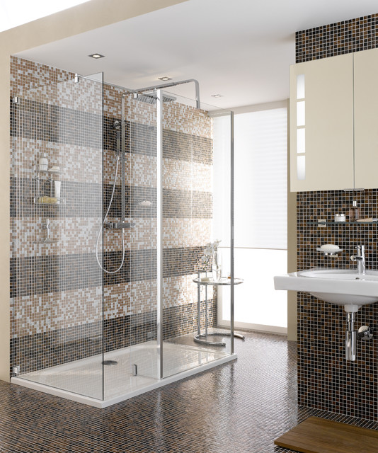 Shower Bar-Hand Shower Combo - Contemporary - Bathroom - Miami ...