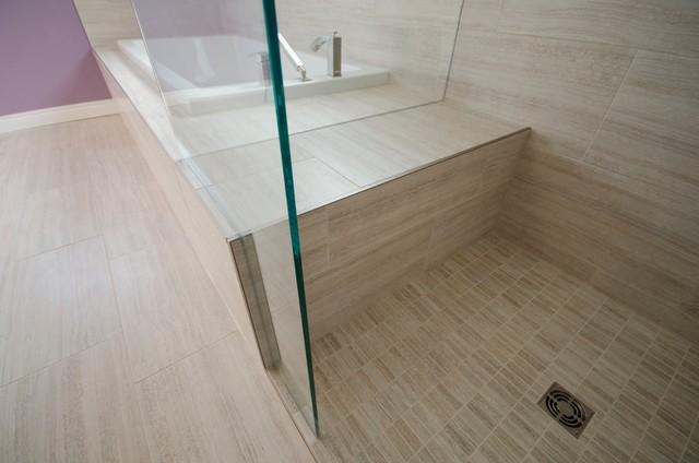 Shower Benches Contemporary Bathroom Toronto By Floor And Bath Design