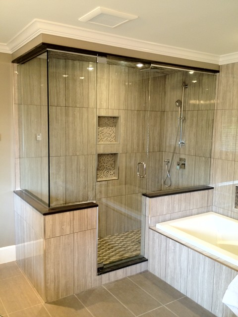 Shower enclosures - Contemporary - Bathroom - Vancouver - by Alto Glass