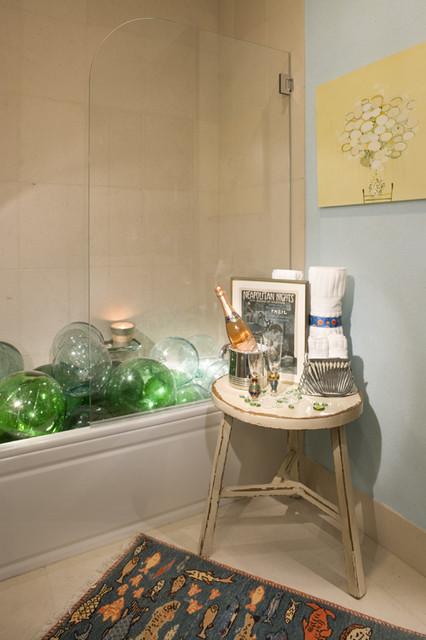 Shower Enclosures eclectic-bathroom