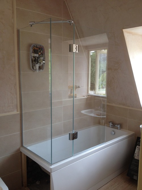 Do You Make Over Bath Shower Doors For The Tap End
