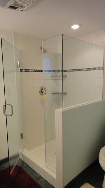 Shower Enclosures by Cook Bros. of Arlington, Virginia traditional-bathroom
