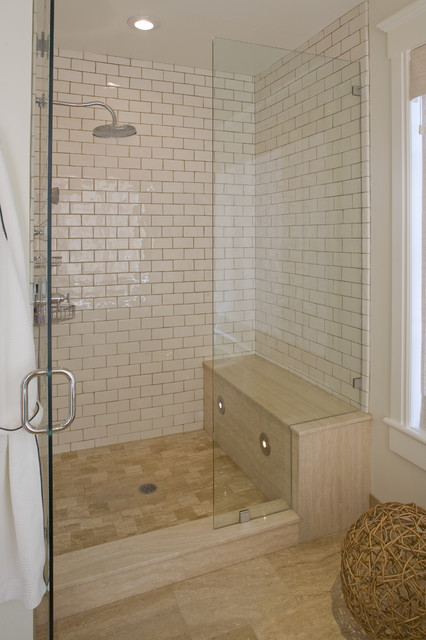 Shower traditional-bathroom