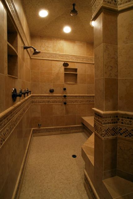Shower traditional-bathroom