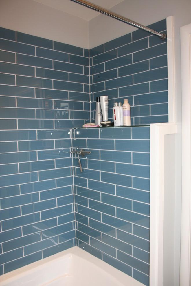 Shower Ledge Modern Bathroom San