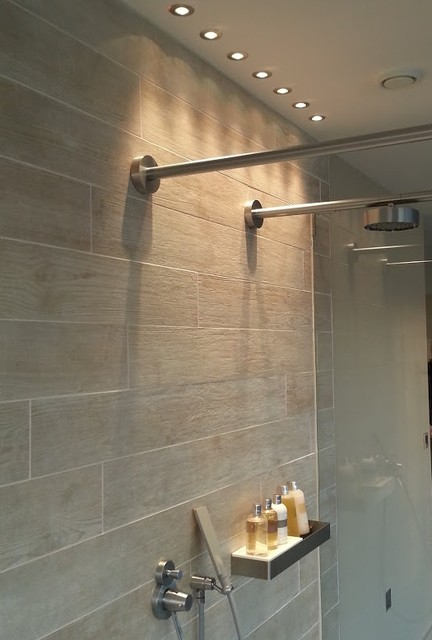 Shower lights at the Lakes - Contemporary - Bathroom - London - by ...