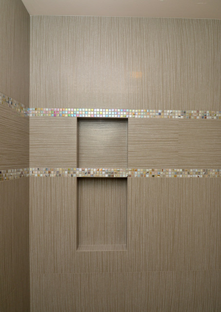Shower Niche Contemporary Bathroom Seattle By All Tile