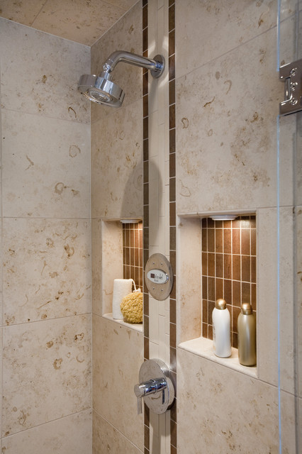 shower niches contemporary bathroom seattle by