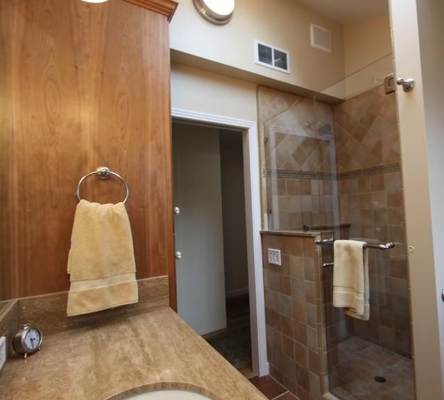 Shower eclectic-bathroom