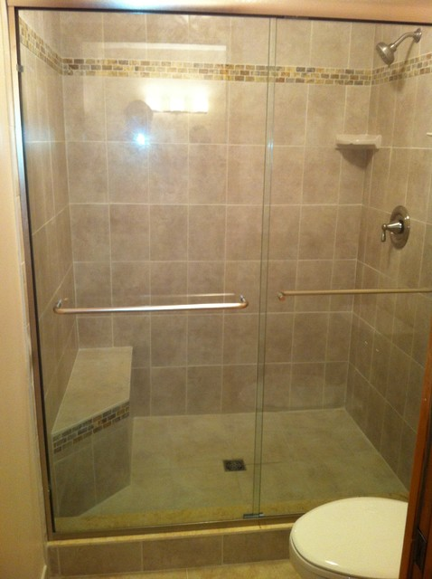 Shower Redo Contemporary Bathroom Other Metro By