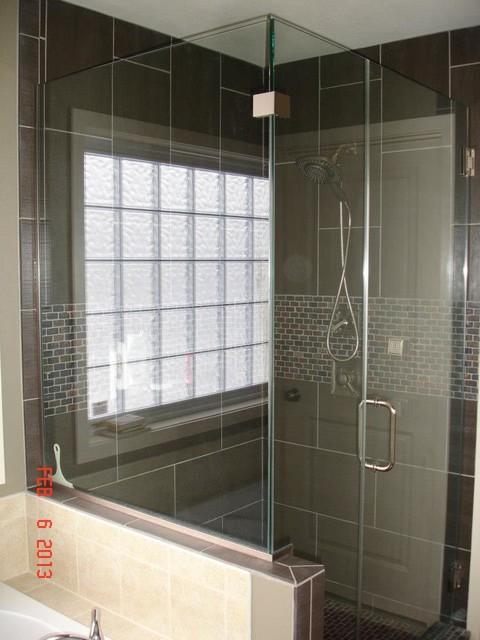 Shower Remodel contemporary-bathroom