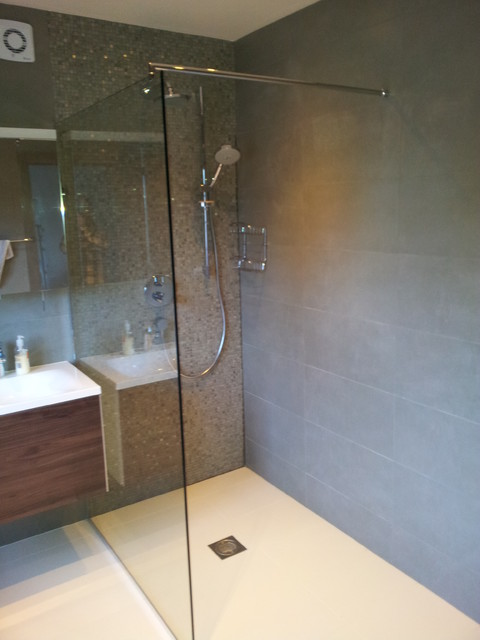 Shower Room Contemporary Bathroom Hertfordshire By Studio 3 Kitchens