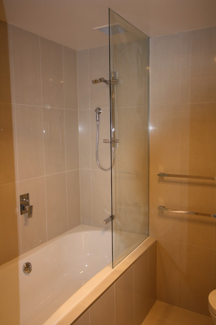 Shower screens modern bathroom hobart by lifestyle for Bathroom designs hobart