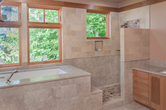 Shower Tub Bathroom Ideas Traditional Bathroom Seattle By Shower Tub Bathroom Ideas Traditional Bathroom