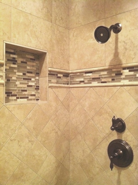 Shower Walls Contemporary Bathroom Little Rock By