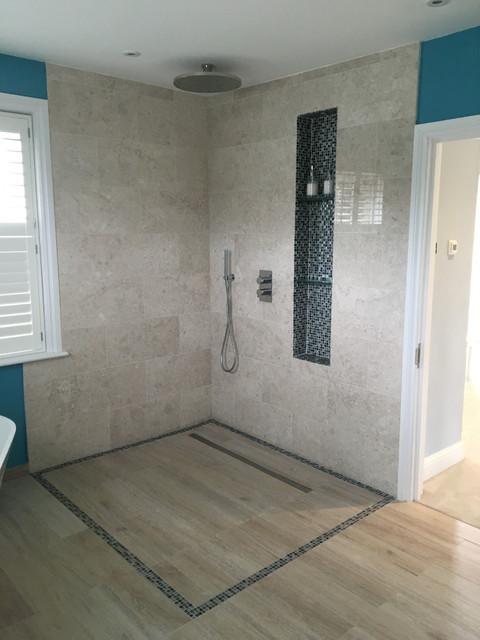 Shower wet room richmond residential for Bathroom interior design richmond va