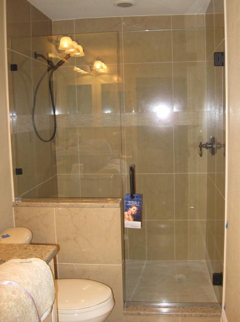 Showerguard Glass Frameless Shower Traditional