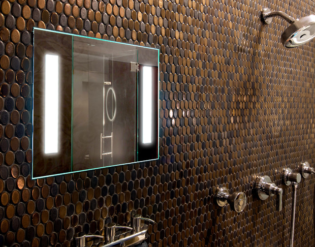 showerlite fog free mirror contemporary bathroom minneapolis by clearmirror