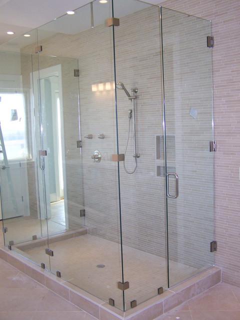 Showers contemporary-bathroom