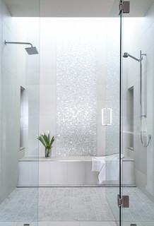75 Badezimmer Mit Mosaikfliesen Ideen Bilder Januar 2021 Houzz De