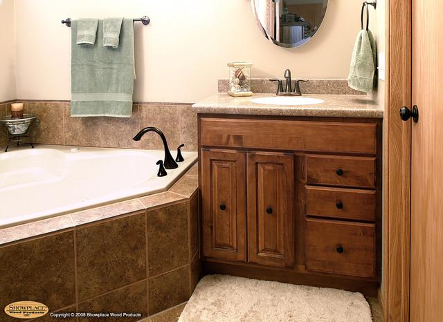 Showplace Cabinets - Bathroom traditional-bathroom