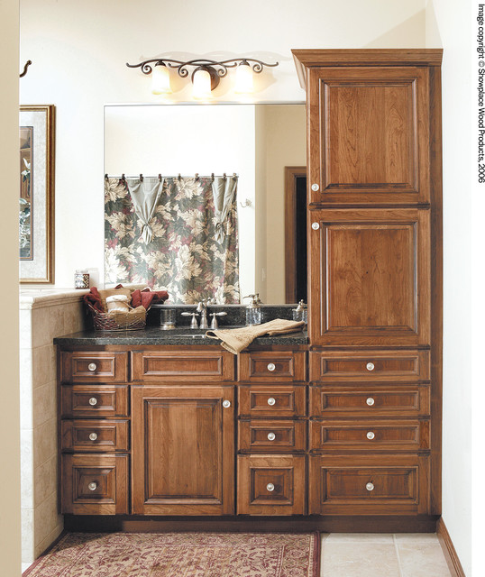 traditional bathroom other metro by showplace wood products: organizer drawer showplace kitchen convenience accessories