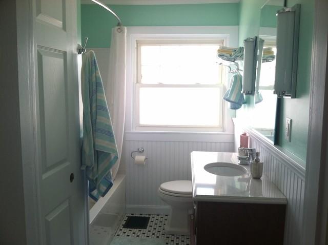 Showplace Wood Products Aqua Vintage Bath Dayton Ohio - Bathroom remodel dayton ohio