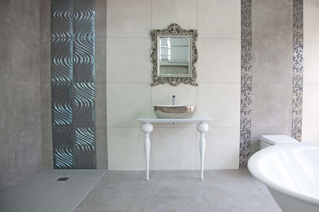 Showroom - Eklektisk - Badrum - north west - av Real Stone & Tile