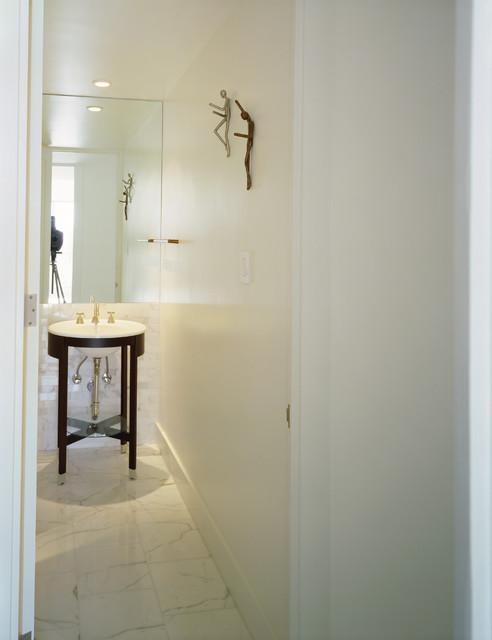 Shroff Residence Bathroom modern-bathroom